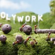 Stock Photo: Holywork hills, teamwork, Ant Tales