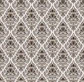 Seamless damask pattern — ストックベクタ