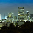 Panorama of night city - Thailand, Bangkok — Stock Photo #12454810