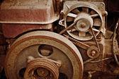 Vecchi macchinari fatiscenti — Foto Stock
