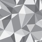ダイヤモンドのシームレスなパターン - 抽象的なポリゴンのテクスチャ — ストックベクタ