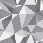 Diamond seamless pattern - abstract polygon texture — Vettoriale Stock