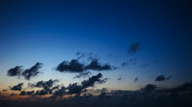 日没の時間経過雲 — ストックビデオ