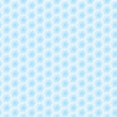 Abstract vector seamless texture - light blue hexagons — Stock Vector