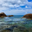 Tropical ocean coast. Thailand, Phuket, Karon. — Stock Photo