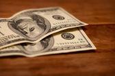 Dollars close up — Stock Photo
