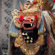 Barong - character in the mythology of Bali, Indonesia. — Stock Photo
