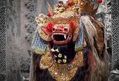 Barong - bali, endonezya mitolojisinde karakter. — Stok fotoğraf