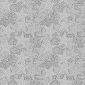 Vektör yıldız soyut seamless modeli — Stok Vektör
