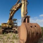 Old excavator — Stock Photo #1788489