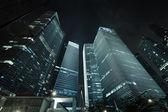 Kancelářské budovy - mrakodrapy — Stock fotografie