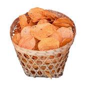 традиционные картофельные чипсы. индонезия, java. — Стоковое фото