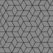Geometric pattern - seamless graphic design - Stockvectorbeeld