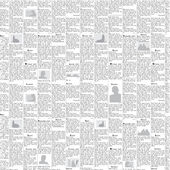 Newspaper vector background — Stok Vektör