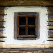 Wooden vintage window — Stock Photo