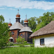 Traditional Slavonic village — Stock Photo