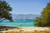 Beach of tropical island — Stock Photo