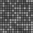 Vector black & white tile seamless texture — Stock Vector