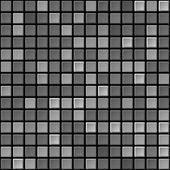 Vector black & white tile seamless texture — Stock Vector