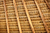 Structure of thatched roof — Stock Photo