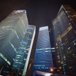 Skyscrapers of the financial center - Stock Photo