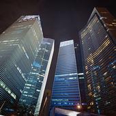 金融の中心の高層ビル — ストック写真