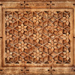Floral ornament on stone wall in Jaisalmer, India — Stock Photo #19845997