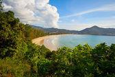 Tayland, phuket, kamala beach yatay — Stok fotoğraf