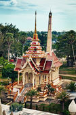 Old buddist crematory in Wat Chalong. Thailand. — Stock Photo