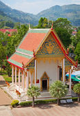 Old building - part of Buddhist temple complex. Thailand. — Stock Photo