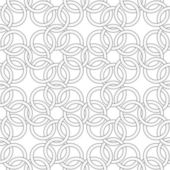 Vector seamless pattern - pattern like weaving chainmail — Stock Vector