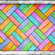Color wooden parquet background — Stock Photo