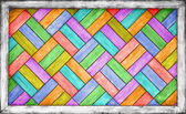Color wooden parquet background — Stockfoto
