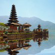 Pura Ulun Danu Bratan hindu temple — Stock Photo #21365823