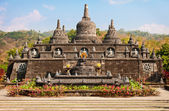 Buddhist temple - Banjar, Bali, Indonesia — Stock Photo