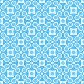 Simple vector seamless geometric blue pattern — Stock Vector