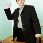 ředitel na pracovišti s papírem — Stock fotografie #2269104