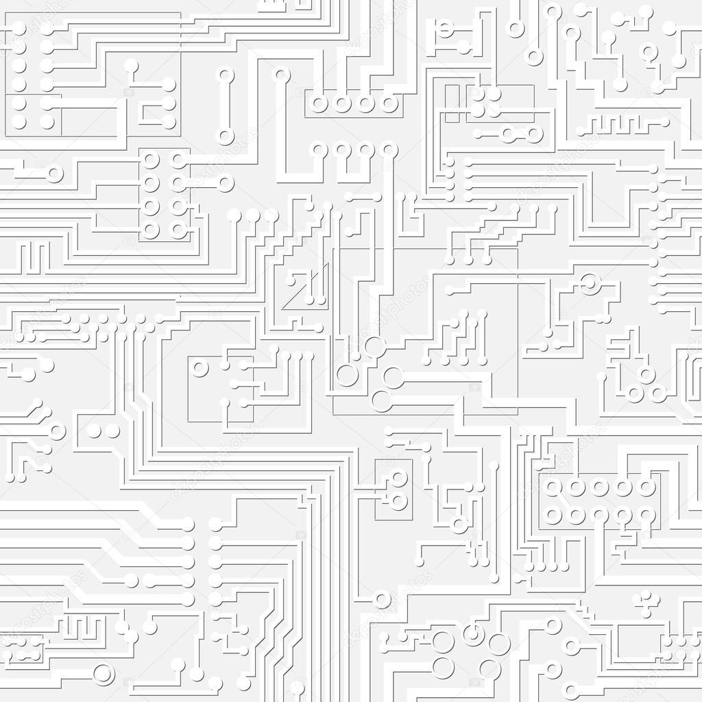 vector light gray circuit board pattern  u2014 stock vector  u00a9 pz axe  23337288
