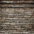 Moldy old brick temple wall — Lizenzfreies Foto