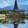 Temple on Bratan lake - Pura Ulun Danu Bratan, Bali, Indonesia — Stock Photo