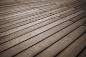 Solid wood flooring — Stock Photo
