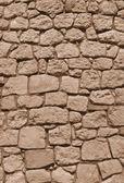 Vieux mur de pierres naturelles — Photo