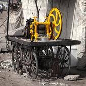 Maskin för att få saft från sockerrör — Stockfoto