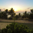 Stock Video: Video 1920x1080 - Evening at tropical resort - timelapse