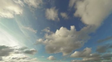 Video 1920x1080 - beautiful day timelapse with the clouds on heaven — Stock Video