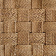 Horizontal natural fibers weaving background — Stock Photo