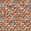 Seamless pattern - brick wall grunge background — Stock Photo #29067363