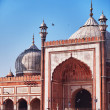 Stock Photo: JamMasjid mosque largest in India