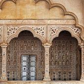 Fragmentos de la arquitectura india tradicional — Foto de Stock