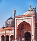 Jama Masjid mosque largest in India — Stock Photo